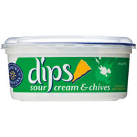 Country Goodness Sour Cream and Chives Dip 250g