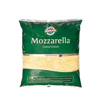 Mainland Cheese Grated Mozzarella 5Kg