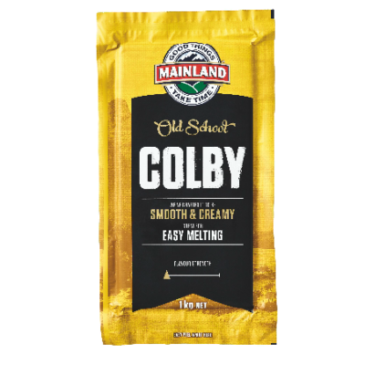 Mainland Cheese Block Colby 1kg