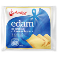 Anchor Processed Cheese Slices 250g - Edam