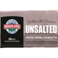 Mainland Butter Unsalted 500g