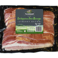 Farmland Foods European Free Range Streaky Bacon
