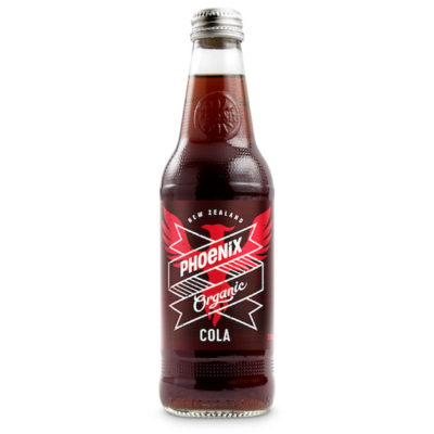 Phoenix Organic Soda 330ml - Cola