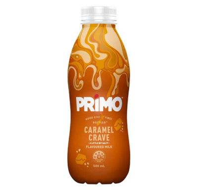 Primo Caramel Crave Flavoured Milk 500ml